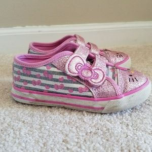 2c75b4b030deb Hello Kitty Shoes - Hello Kitty Toddler Girls Gym Shoes Size 9